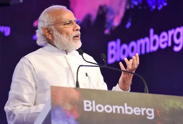 मुद्रास्फीति की कम दर और उच्च विकास दर की वजह से भारत कारोबार के लिए सबसे बेहतर जगह: प्रधानमंत्री मोदी