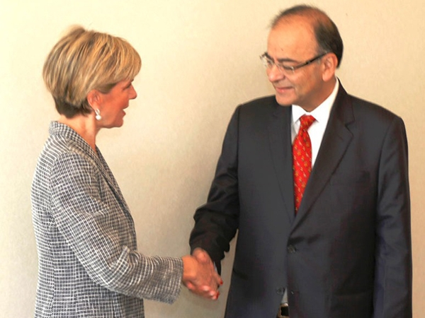 Jaitley meets Australian Foreign Minister; says economic reforms especially in taxation and FDI widely accepted in India