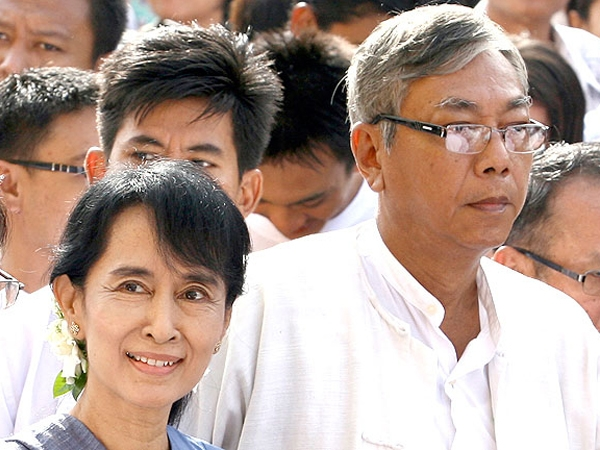 After 5 decades of military rule Myanmar gets new President; Democracy icon Suu Kyi's aide Htin Kyaw avowed