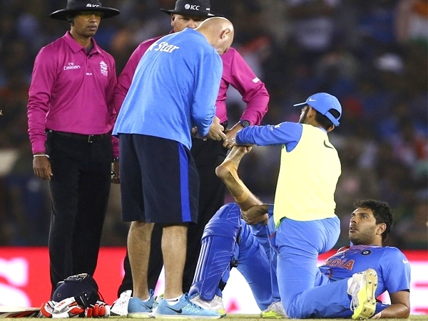 ICC confirm Manish Pandey as Yuvraj's replacement after serious ankle injury