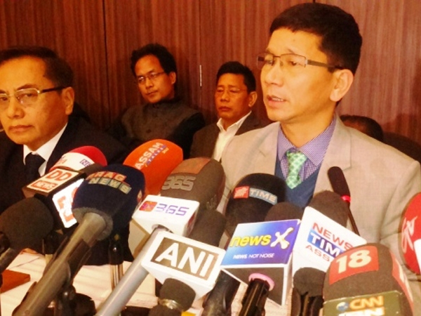 Pul urges to make Arunachal a safe investment destination; says peace is prerequisite for growth