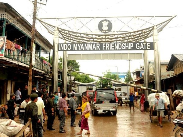 Myanmar commercial towns lit with power supply from Manipur; locals get a fillip to revive business