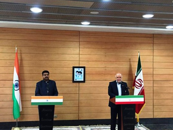 Pradhan meets his Iranian counterpart; expresses India's interest in setting up LNG plant, gas cracker in Chabahar port