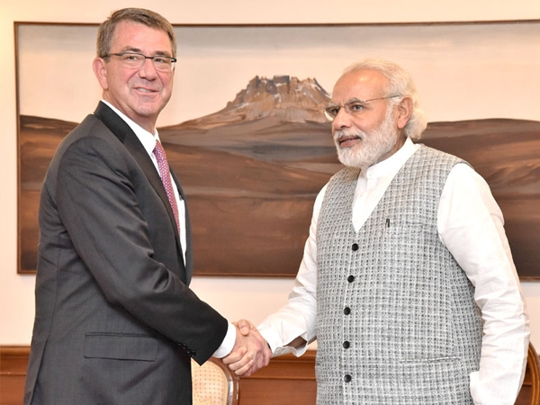 PM Modi meets Ash Carter, expresses hope to boost Indo-US defence ties with 'Make in India' vision