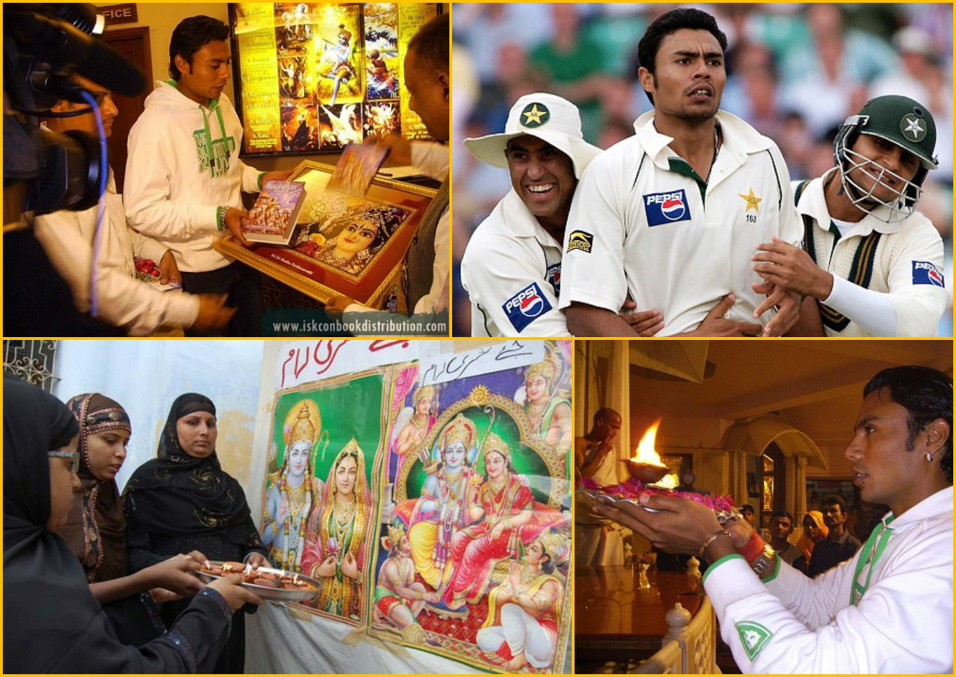 See what Pakistani Cricketer Danish Kaneria says about 'Dharma'