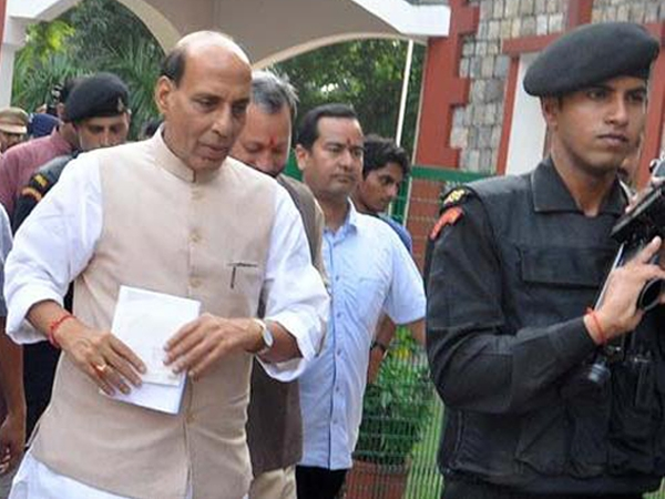 Rajnath urges Naxals to shun violence; says violence has no place in a democracy