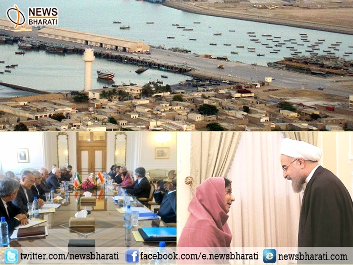 India-Iran closes on breaking gridlock in Chabahar port; Sushma thrashes out expansion of defense deals