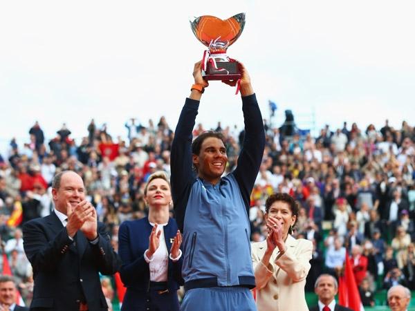 Spanish tennis star Rafael Nadal recaptures 'Monte-Carlo Rolex masters' title
