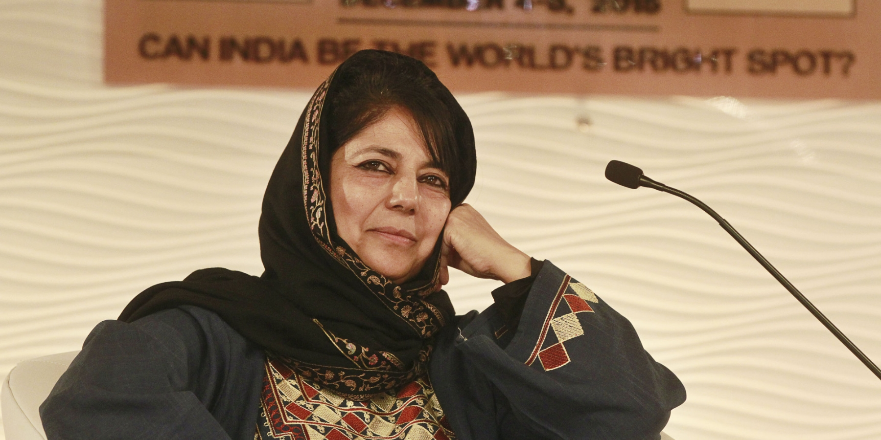 "Mehbooba's ""orientation"" and the way ahead"