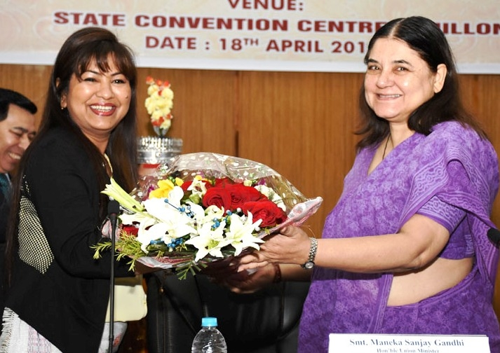 Maneka inaugurates conference of NE States on child adoption to foster care for children