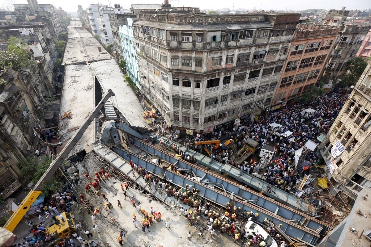NDRF confirms death toll rising to 26 after Kolkata's horrifying flyover accident