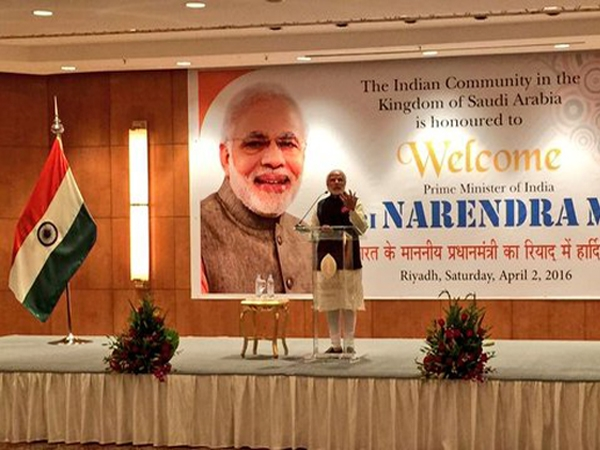 PM Modi asserts India's rising potency to Indian community
