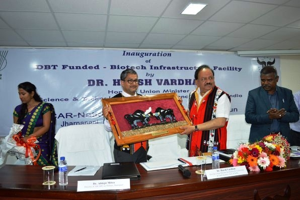 Vardhan launches Twinning Network Programme in Nagaland to benefit researchers of NE region