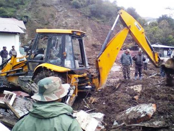 Landslide due to incessant rains in Tawang district of Arunachal Pradesh kills 16, injures many