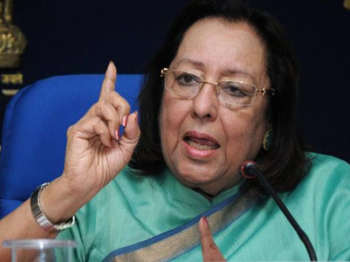 Accountability, responsibility and transparency are keys to good governance says Najma Heptulla