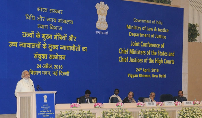 Common man has highest trust in judiciary: PM Modi