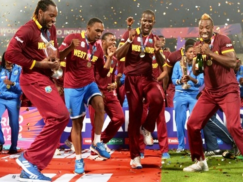 ICC flares West Indie's indecent behavior after World cup T20 victory