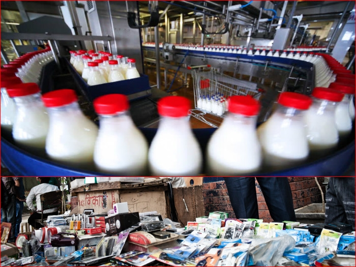 India bans import of milk & certain mobile phones from China over sub-standard qualities
