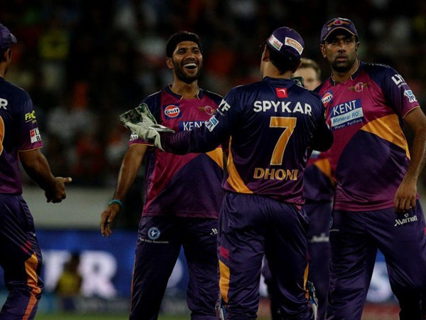 After four consecutive loses, Pune registers victory over Sunrisers Hyderabad by 34 runs