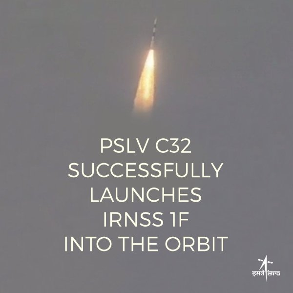 Live : Launch of PSLV-C33/IRNSS-1G