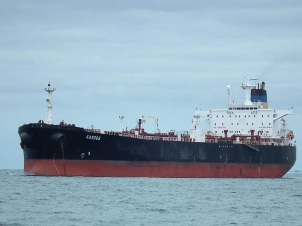 UN blacklists an Indian-flagged cargo ship for transporting crude oil illicitly exported from Libya