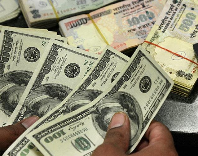 Rupee slides 22 paise in early trade