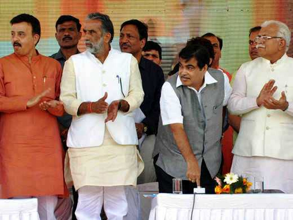 Gadkari inaugurates Manesar-Palwal section; traffic congestion expected to be reduced by 50%