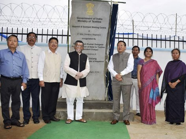 Gangwar inaugurates three mega textile projects in Nagaland to boost entrepreneurship in the state
