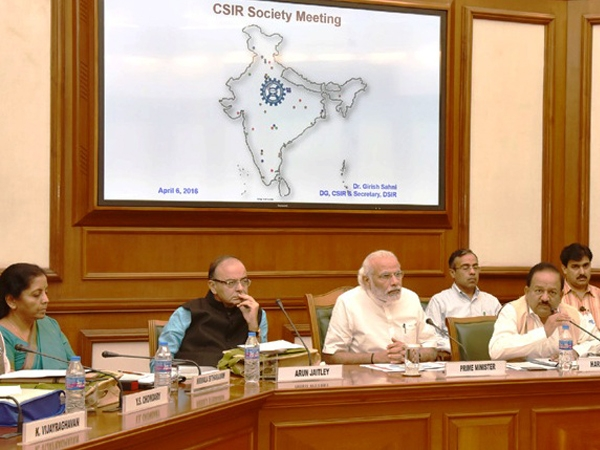 PM Modi urges CSIR Society to provide technological solutions to poor sections of the society