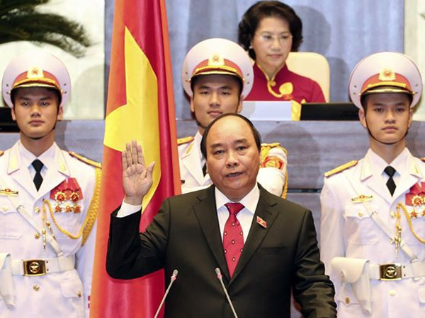 Nguyen Xuan Phuc got approved as the Vietnam's new prime minister