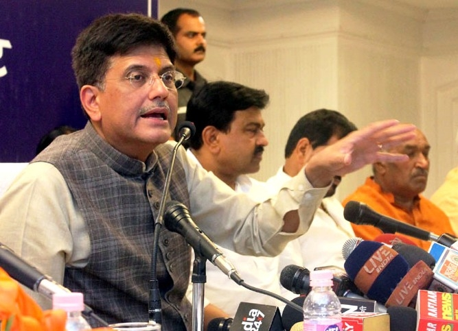 Goyal launches pilot project of 'District Vidyut Abhiyantas' to strengthen district electricity committee in UP