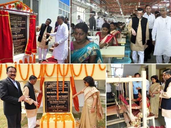 Gangwar takes a major step towards 'Make in India'; inaugurates garment making unit in Tripura