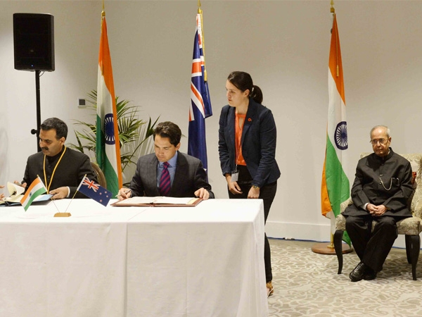 India-New Zealand sign air services agreement to boost tourism