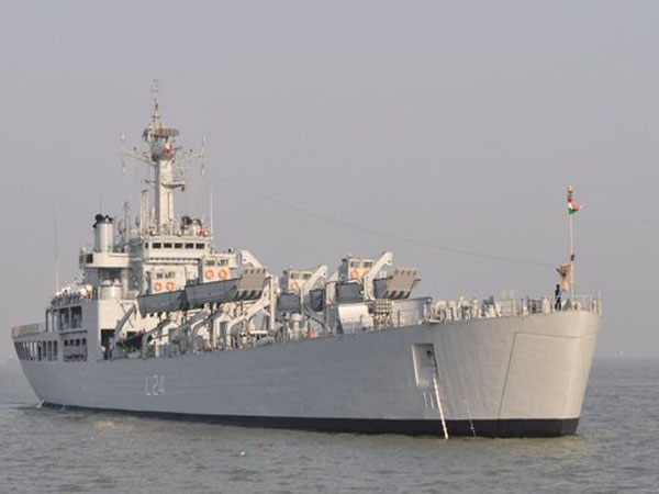 INS 'Airavat' arrives at Brunei to participate in 'ADMM Plus' exercise on maritime security