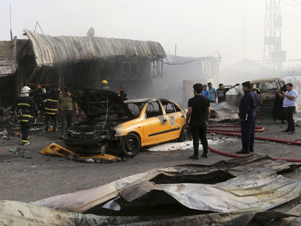 Five back to back bomb blasts in Iraq kills 12 people and injures 40 others