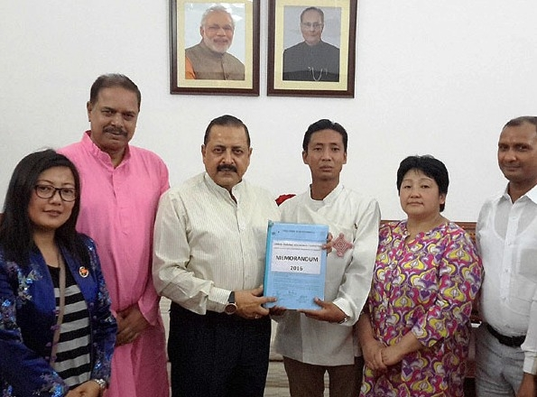 Sikkim delegation meets Jitendra Singh; discusses wide range of issues related to the State