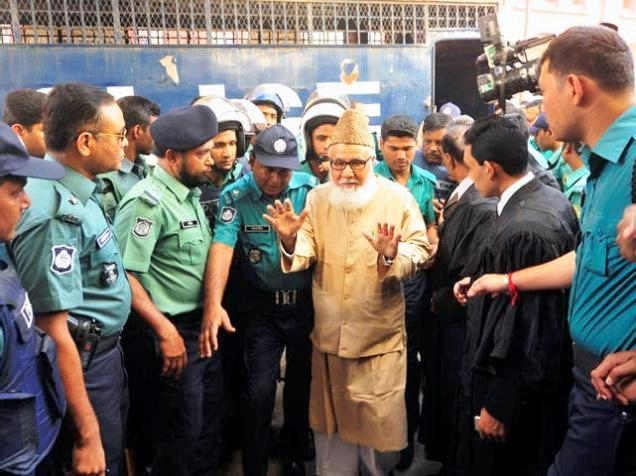 Bangladesh hangs Jamaat-e-Islami chief Nizami for war crimes during 1971 Liberation War