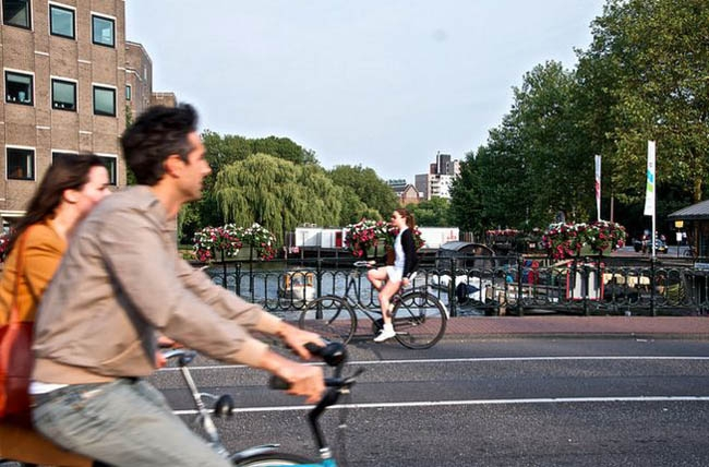 Amsterdam to appoint world's first bike mayor