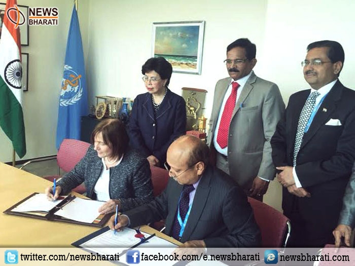 First of its kind landmark agreement signed between India and WHO for global promotion of traditional medicine