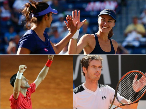 Italian Open: Sania-Hingis storms into doubles final; Djokovic and Murray to clash for title