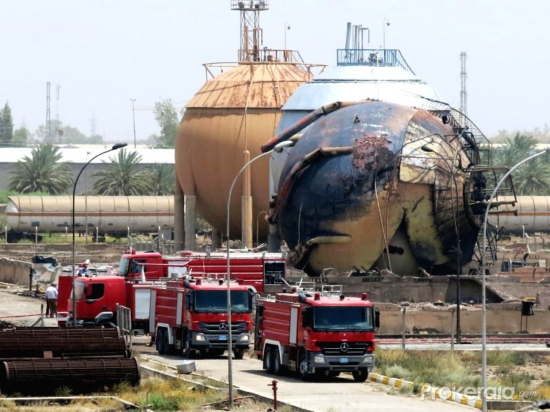 ISIS takes responsibility for Baghdad gas plant attack that took 100 lives