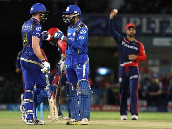 Krunal Pandya' knock pushes Mumbai Indians to victory against Delhi Daredevils by 80 runs