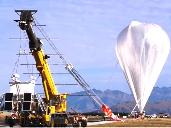 NASA successfully launches a super pressure balloon for investigations