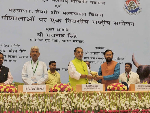 Javadekar emphasises on need to protect pasture lands during national conference on 'Gaushalas'