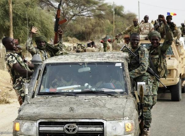 More than 700 Boko Haram insurgents in Nigeria's north-east region surrender to Nigerian military