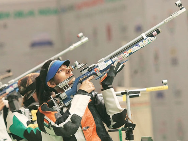 India bags 3 gold medals and 1 bronze in ISSF Junior World Cup