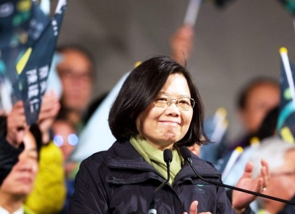 Tsai Ing-wen becomes Taiwan's first female President; vows to reduce dependence on Beijing