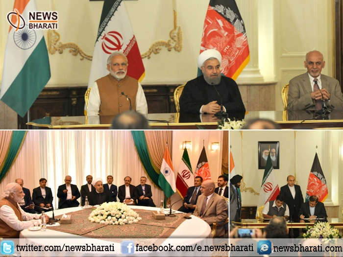 India, Iran, Afghanistan sign historical Chabahar Port agreement to expand trade and investment