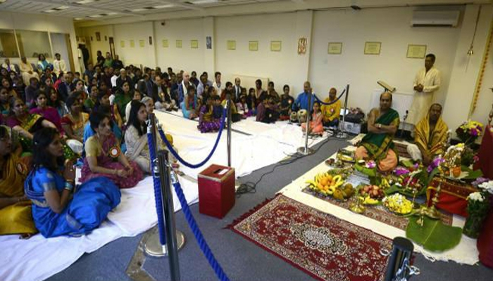 Swindon in South West England has a new Hindu temple now