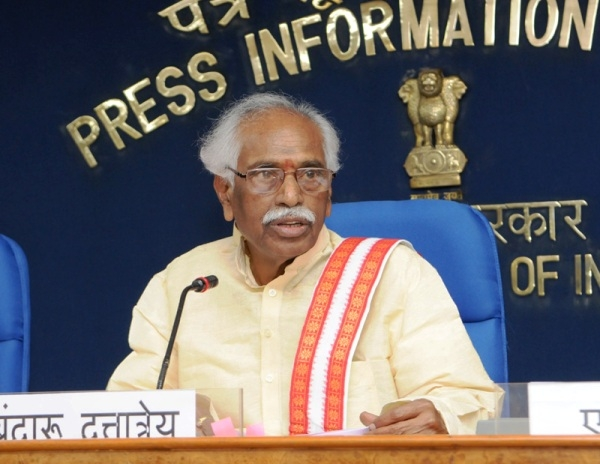Centre committed to achieve employment, wage and social security to every worker: Dattatreya